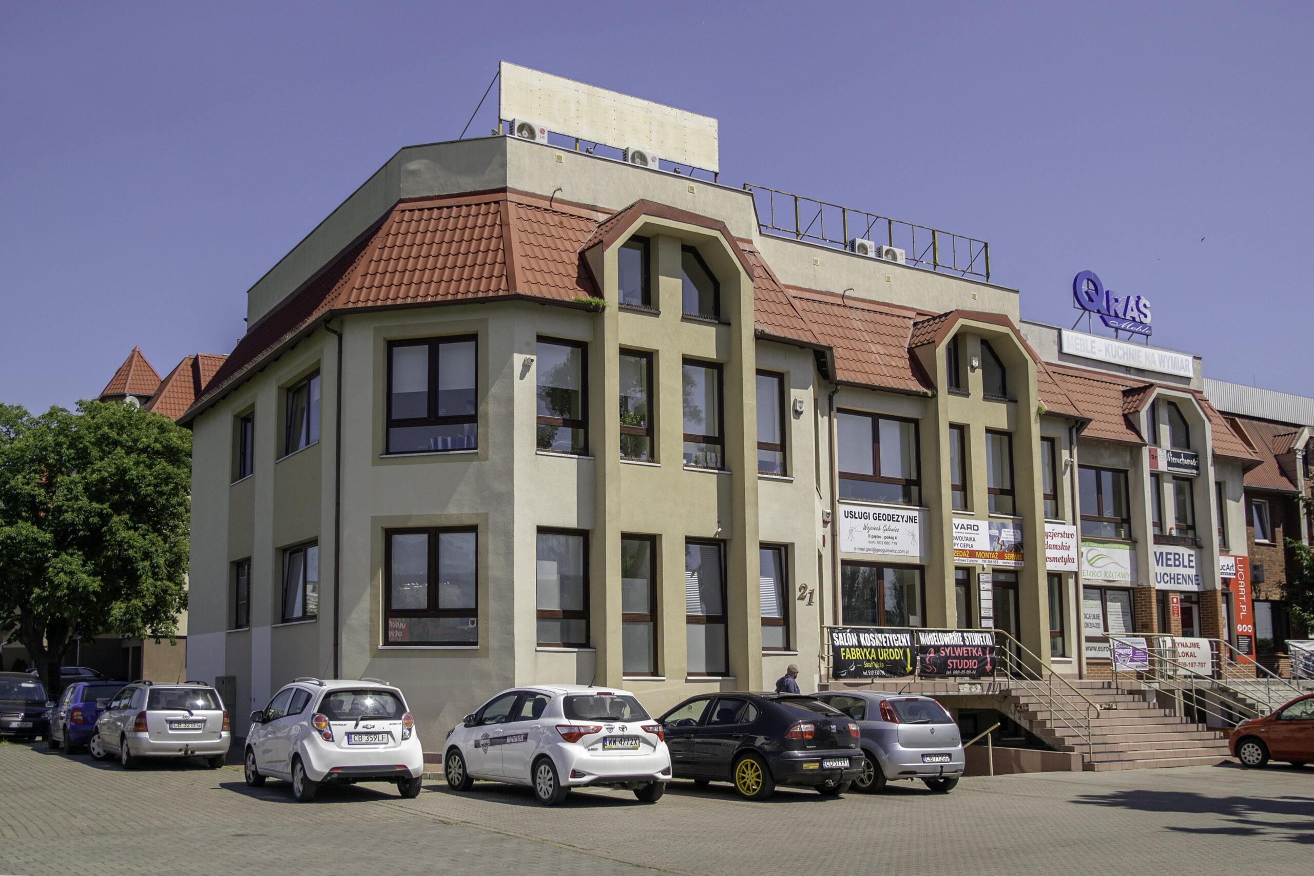 Lokale handlowe/usługowe oraz mieszkania do wynajęcia w Bydgoszczy